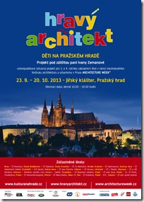 Hravý architekt - plakát