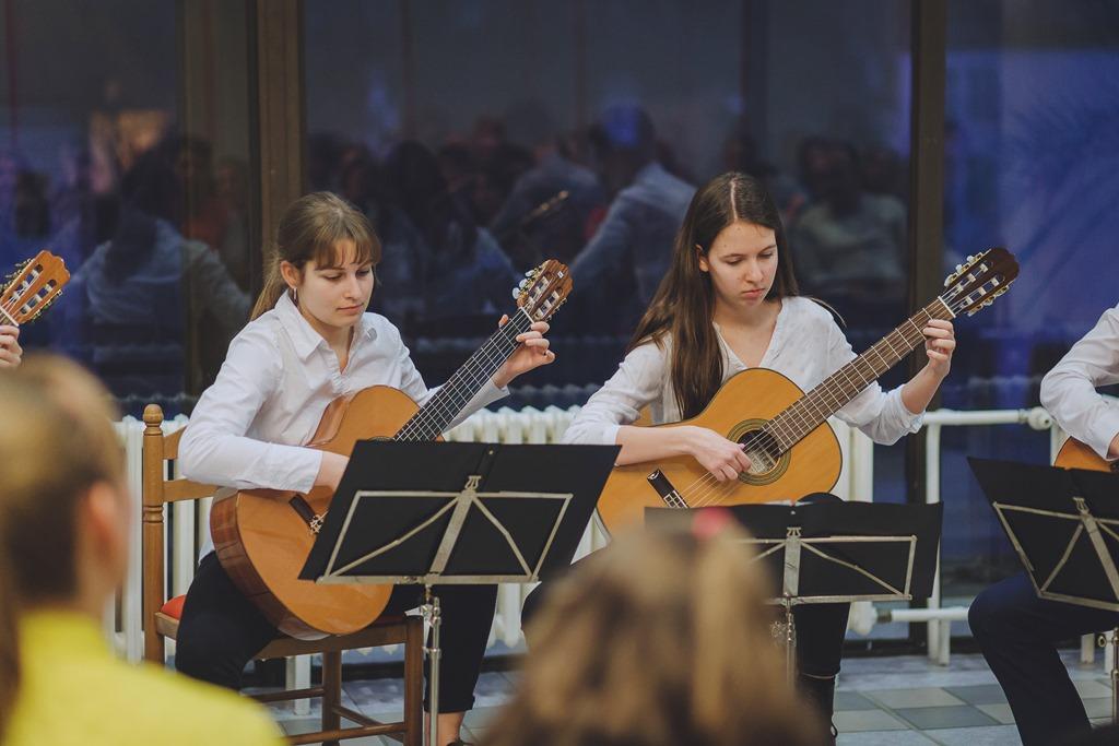 Koncert oddělení strunných nástrojů