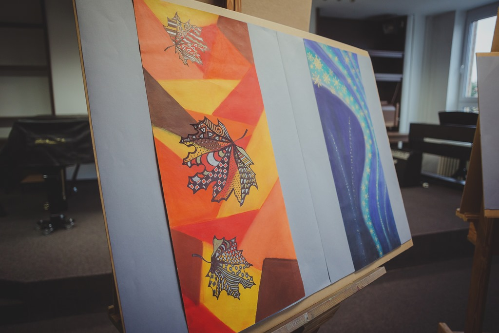 Výstava prací žáků výtvarného oboru