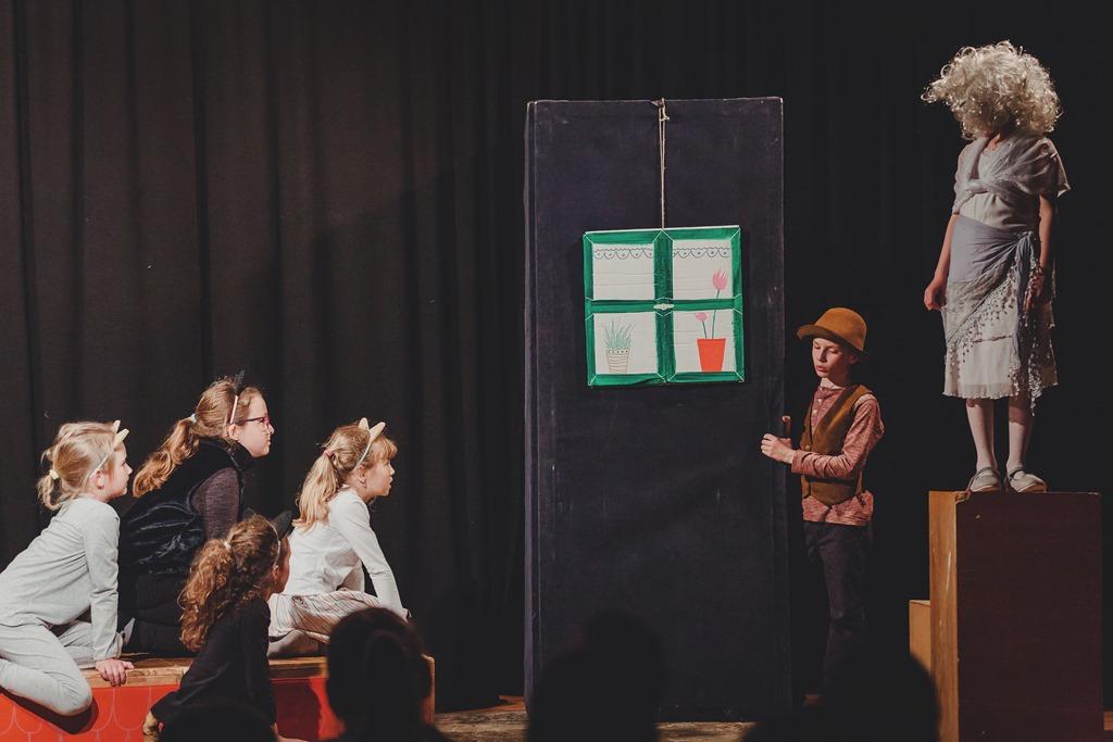 Představení literárně dramatického oboru