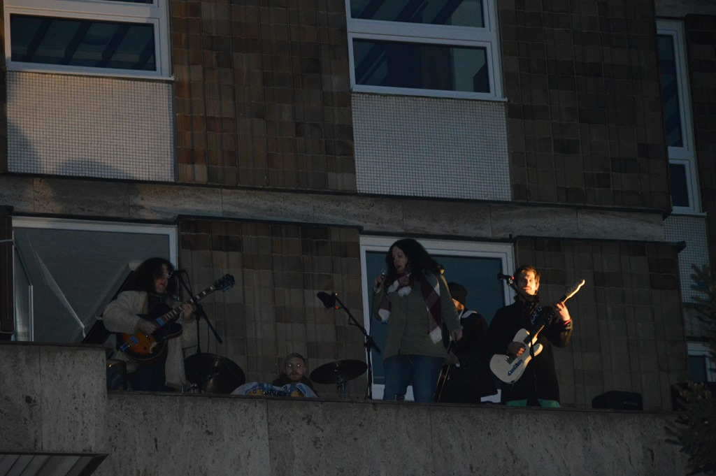 "Happening ""Beatles rooftop concert 50 years after"""