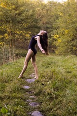 tanecni poza v exterieru 1