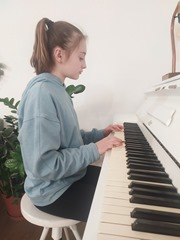 Klára zelenková klavír