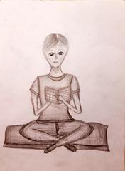 Sedící postava (1)