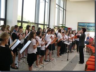 Koncert k 15. výročí Velkého flétnového souboru