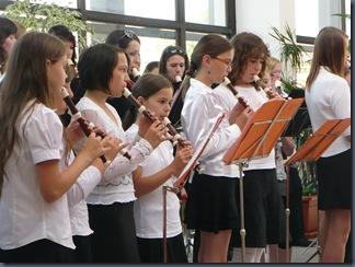 Koncert k 15. výročí Velkého flétnového souboru - Malý flétnový soubor