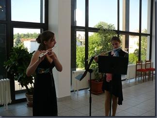 Koncert k 15. výročí Velkého flétnového souboru - Michaela Zvěřinová a Daniela Nováková