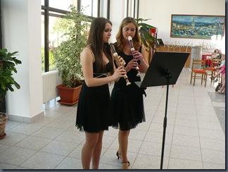 Koncert k 15. výročí Velkého flétnového souboru - Lenka Vacíková a Michaela Prokešová